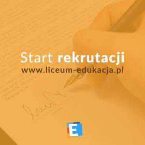 Rekrutacja do Liceum Ogólnokształcącego Edukacja we Wrocławiu