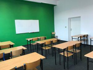 Sala lekcyjna w Liceum Ogólnokształcącym