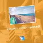 Zespół Liceum Edukacja we Wrocławiu życzy udanych wakacji!