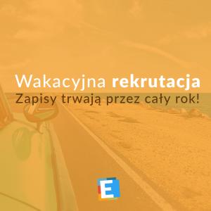 Wakacyjna rekrutacja w Liceum Edukacja we Wrocławiu