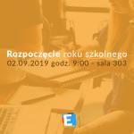 Rozpoczęcie roku szkolnego 2019/20