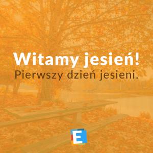 Witamy jesień!