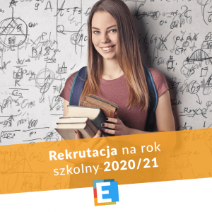 Rekrutacja na rok szkolny 2020-21
