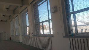 Sala gimnastyczna w Liceum Edukacja