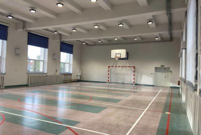 Nowa sala gimnastyczna