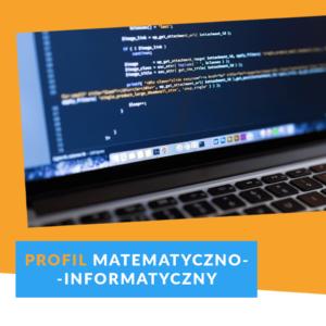 Profil matematyczno-informatyczny