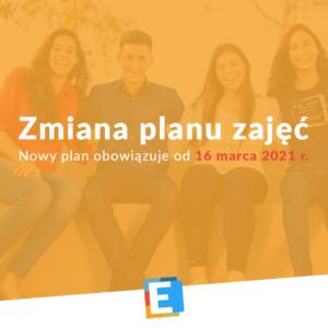 Zmiana planu od 16 marca 2021